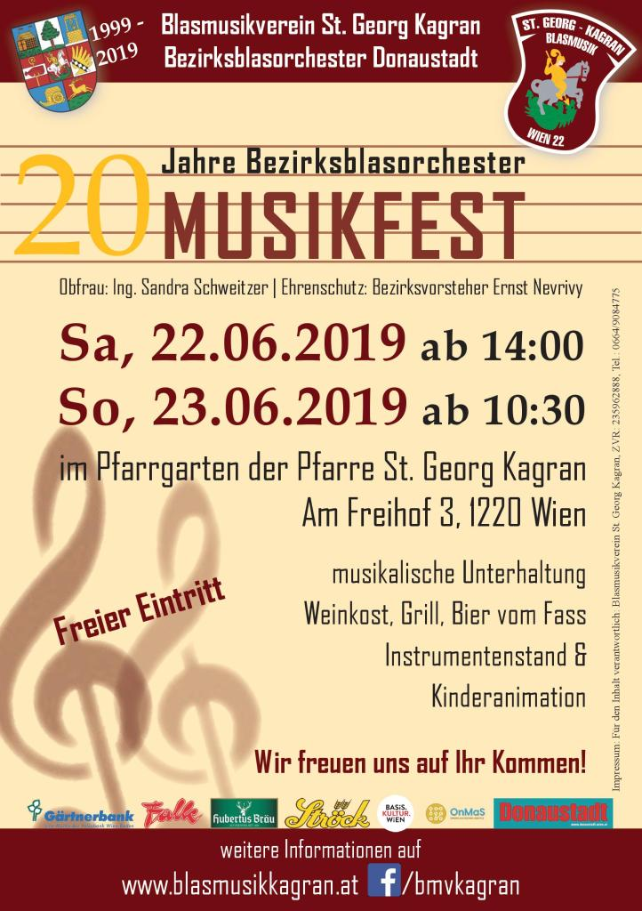 Musikfest 2019 Blasmusik Wien