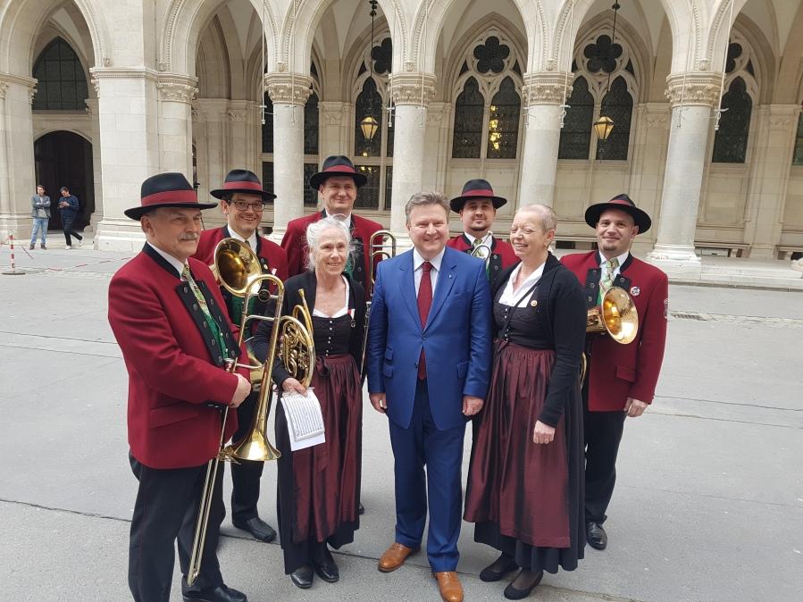 Blasmusik Wien Bürgermeister