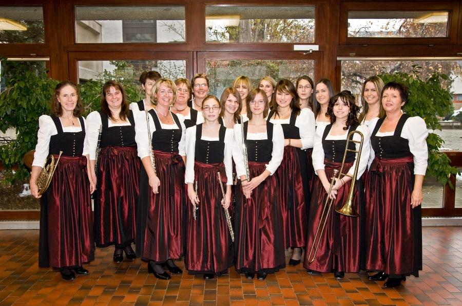 Blasmusik Wien JK2007 Damen